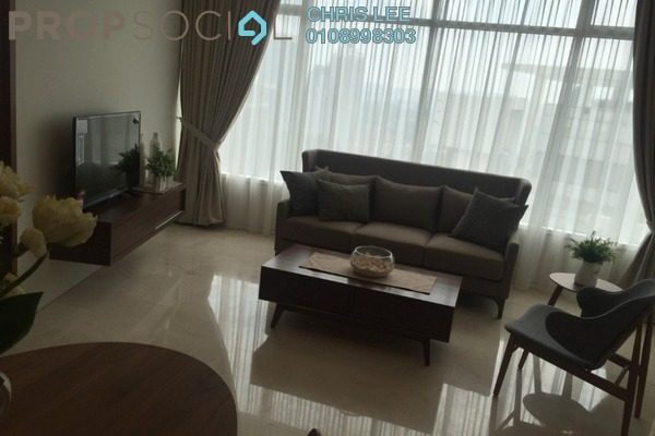 For Sale Condominium at Vortex Suites & Residences, KLCC Freehold Fully Furnished 2R/2B 895k