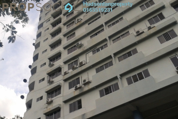For Sale Condominium at Wangsa Heights, Bukit Antarabangsa Freehold Semi Furnished 3R/2B 240k