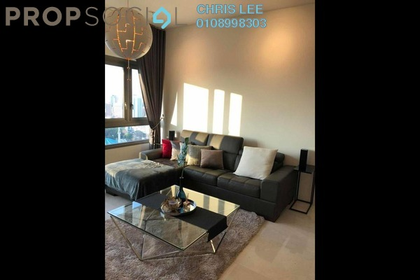 For Rent Condominium at The Sentral Residences, KL Sentral Freehold Fully Furnished 2R/2B 6.1k