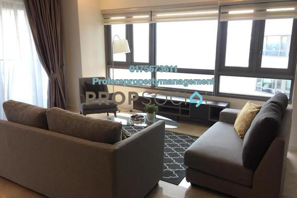 For Rent Condominium at The Sentral Residences, KL Sentral Freehold Fully Furnished 3R/2B 4.8k