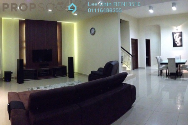 For Sale Terrace at Taman Cheras Permai, Batu 9 Cheras Freehold Unfurnished 4R/3B 695k