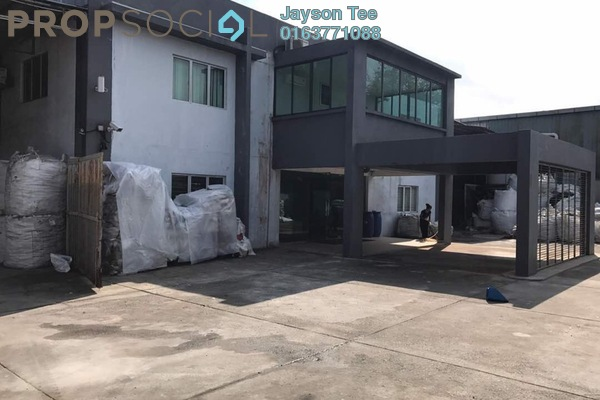 For Sale Factory at Taman Perindustrian Puchong, Puchong Freehold Fully Furnished 0R/0B 7.5m