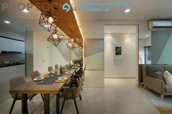 For Sale Condominium at Residensi Suasana, Damansara Damai Freehold Semi Furnished 3R/2B 527k