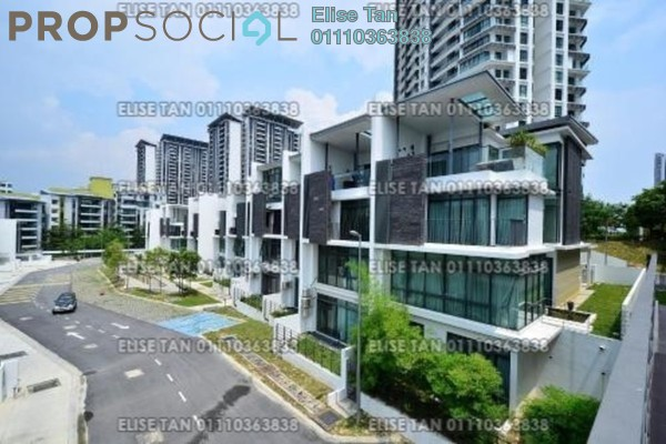 For Sale Terrace at Cristal Residence, Cyberjaya Freehold Semi Furnished 5R/4B 1.02m