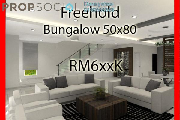 For Sale Bungalow at Taman Senawang Perdana, Senawang Freehold Unfurnished 6R/4B 628k