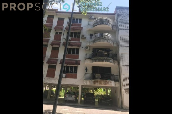 For Rent Condominium at Melawati Hillside Apartment, Melawati Freehold Semi Furnished 3R/2B 1.4k