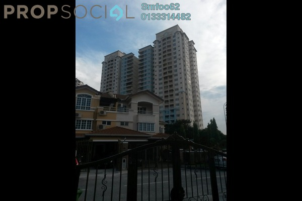 For Rent Condominium at Idaman Puteri, Setapak Freehold Fully Furnished 4R/2B 2k