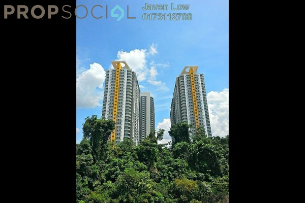 For Sale Condominium at The Z Residence, Bukit Jalil Freehold Semi Furnished 3R/2B 570k