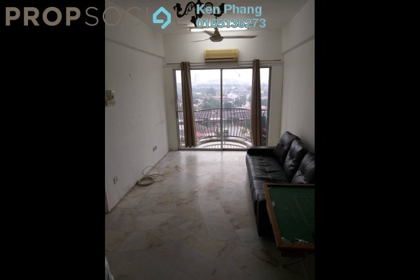 For Sale Apartment at City Heights Apartment, Kajang Freehold Semi Furnished 3R/2B 180k