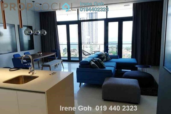 For Rent Condominium at Moulmein Rise, Pulau Tikus Freehold Fully Furnished 4R/5B 8k