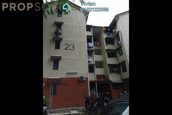 For Sale Apartment at Taman Sri Sentosa, Old Klang Road Freehold Unfurnished 3R/1B 185k