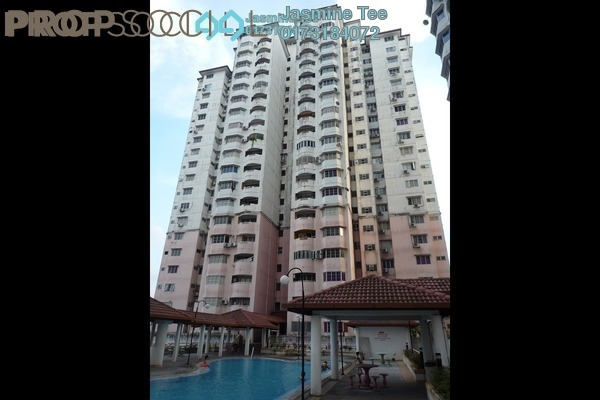 For Sale Condominium at BAM Villa, Cheras Leasehold Fully Furnished 2R/2B 350k