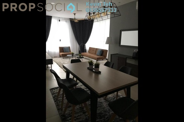 For Rent Condominium at KL Gateway, Bangsar South Freehold Fully Furnished 3R/3B 5.5k