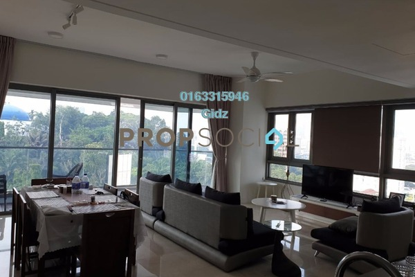 For Rent Serviced Residence at The Sentral Residences, KL Sentral Freehold Fully Furnished 3R/4B 7.5k