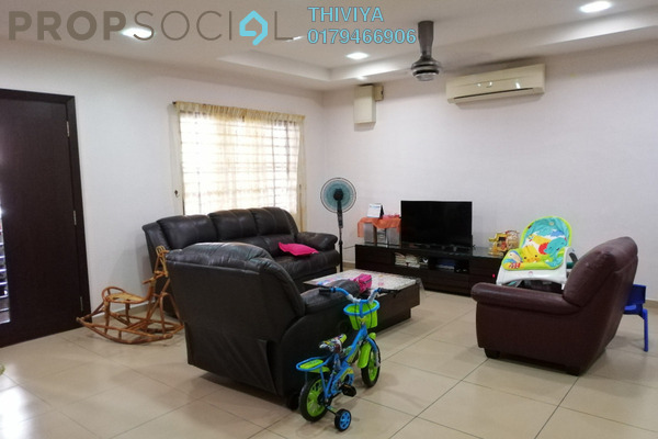 For Sale Terrace at Taman Bayu Perdana, Klang Freehold Fully Furnished 4R/3B 650k