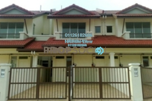 For Sale Townhouse at Bayu Parkville, Balakong Leasehold Semi Furnished 3R/2B 330k