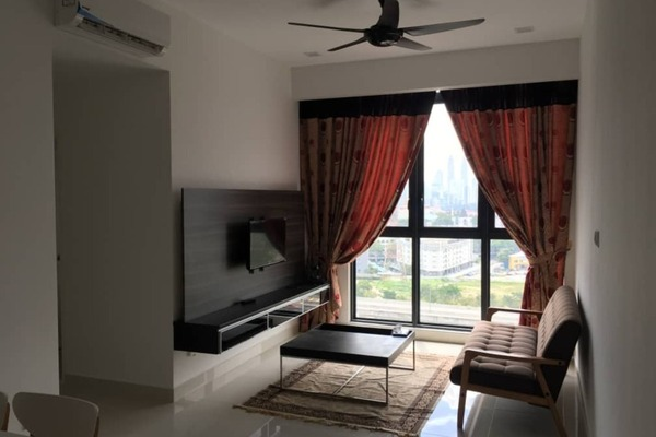 For Rent Condominium at Shamelin Star Serviced Residences, Cheras Freehold Fully Furnished 2R/2B 2.4k