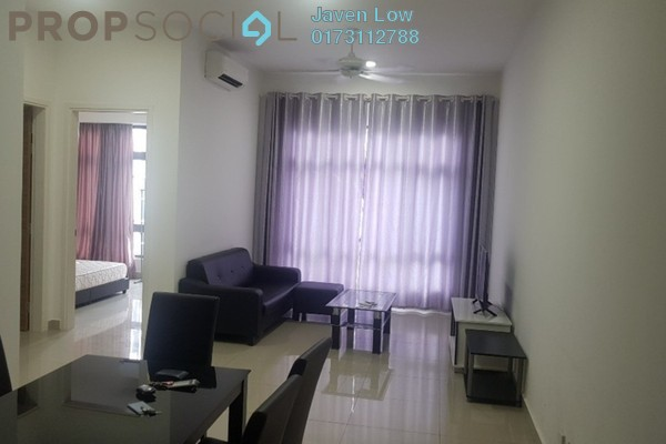 For Rent Condominium at Rivercity, Sentul Freehold Fully Furnished 3R/2B 1.8k
