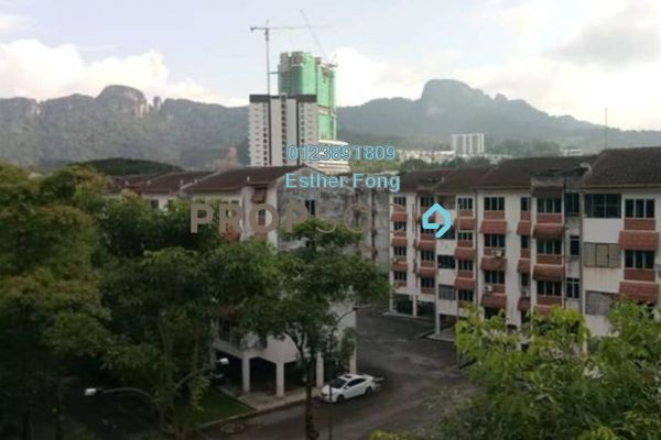 For Rent Apartment at Melawati Hillside Apartment, Melawati Freehold Semi Furnished 3R/2B 1.2k