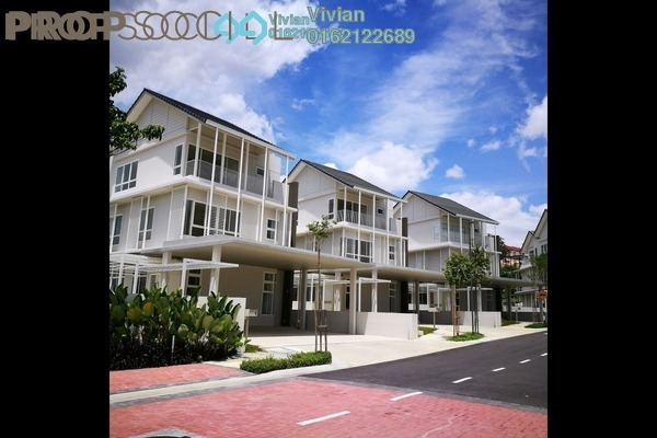 For Sale Villa at Senja, Seri Kembangan Freehold Semi Furnished 5R/6B 2.15m