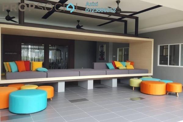 For Sale Condominium at Sentrio Suites, Desa Pandan Leasehold Semi Furnished 2R/2B 590k