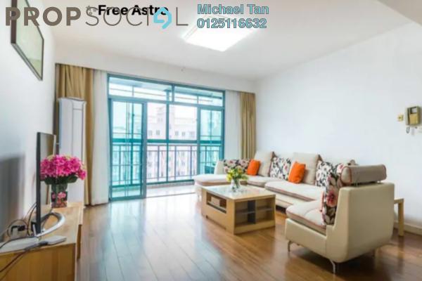 For Rent Condominium at Laman Baiduri, Subang Jaya Freehold Fully Furnished 3R/3B 3.2k