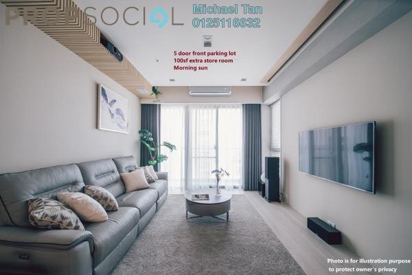 For Rent Condominium at Laman Baiduri, Subang Jaya Freehold Semi Furnished 3R/3B 3k