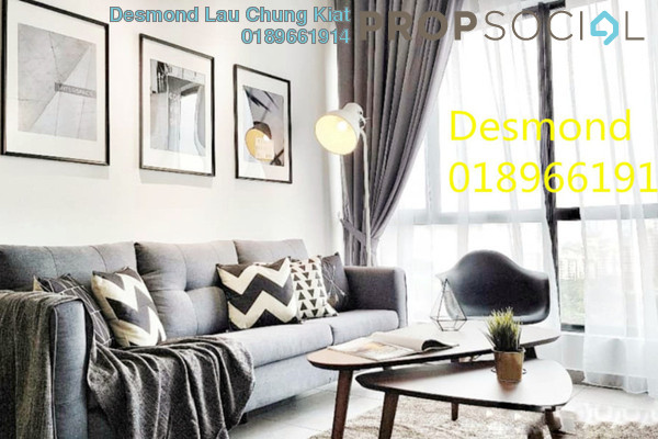 For Rent Condominium at D'Sands Residence, Old Klang Road Freehold Fully Furnished 2R/2B 2.5k