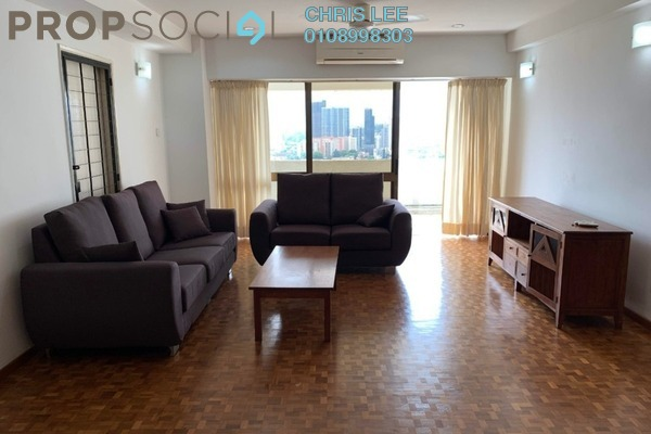 For Rent Condominium at Sri Wangsaria, Bangsar Freehold Fully Furnished 3R/0B 4.3k