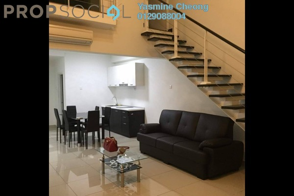 For Rent Serviced Residence at The Scott Garden, Old Klang Road Freehold Fully Furnished 1R/2B 1.7k