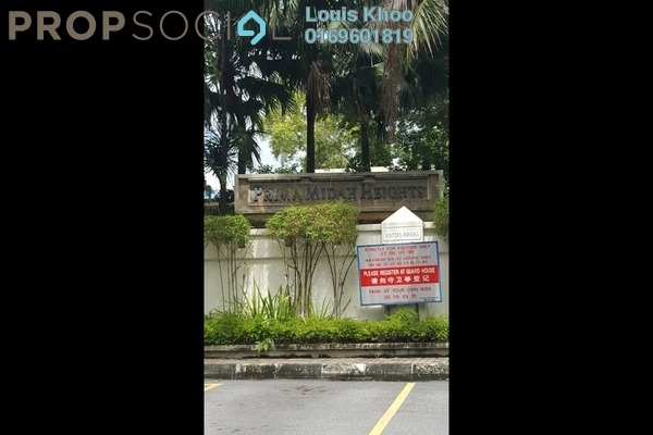 For Sale Condominium at Prima Midah Heights, Cheras Freehold Fully Furnished 3R/2B 618k