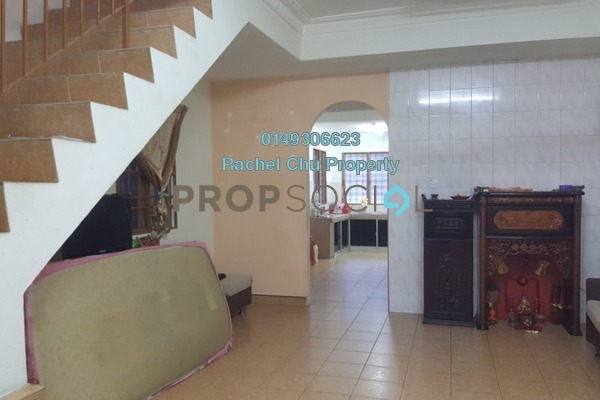 For Rent Terrace at Taman Cheras Awana, Cheras Freehold Semi Furnished 3R/2B 1.1k
