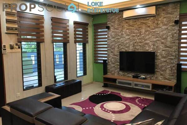 For Sale Semi-Detached at Mahkota Walk, Bandar Mahkota Cheras Freehold Semi Furnished 5R/5B 1.1m