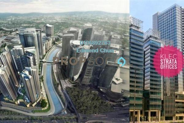 For Sale Office at KL Eco City, Mid Valley City Freehold Semi Furnished 0R/0B 1.03m