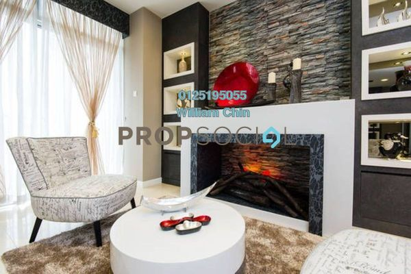 For Rent Condominium at Idaman Residence, KLCC Freehold Fully Furnished 3R/2B 6k