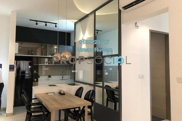 For Sale Condominium at Zentro Residences, 16 Sierra Freehold Unfurnished 2R/2B 363k