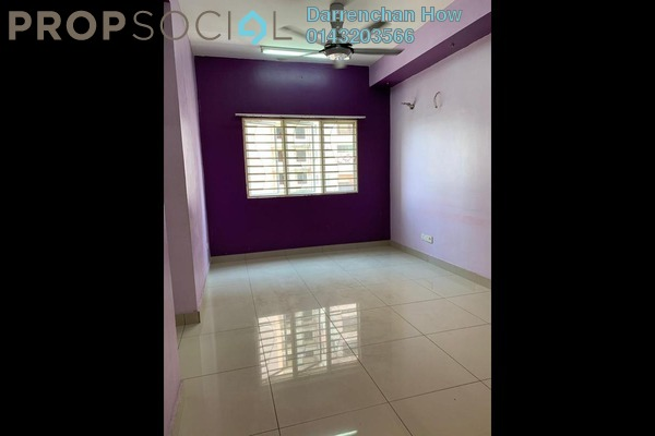 For Rent Apartment at Putra Suria Residence, Bandar Sri Permaisuri Freehold Unfurnished 3R/2B 1.3k
