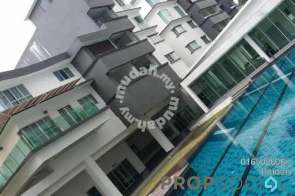 For Sale Condominium at Tiara ParkHomes, Kajang Freehold Semi Furnished 4R/3B 555k
