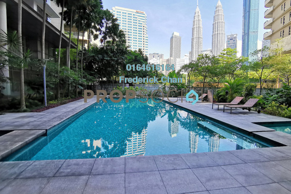 For Rent Condominium at Stonor Park, KLCC Freehold Semi Furnished 3R/3B 7.2k