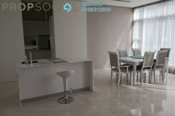For Rent Condominium at Quadro Residences, KLCC Freehold Fully Furnished 3R/4B 6.5k