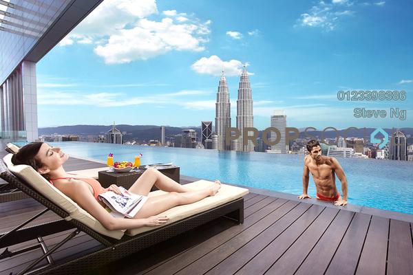 For Sale Condominium at Platinum Suites, KLCC Freehold Unfurnished 0R/0B 1.45m