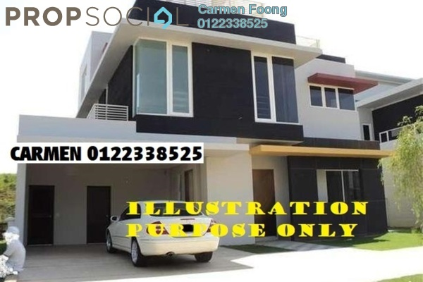 For Sale Bungalow at Setia Eco Park, Setia Alam Freehold Semi Furnished 4R/5B 3m