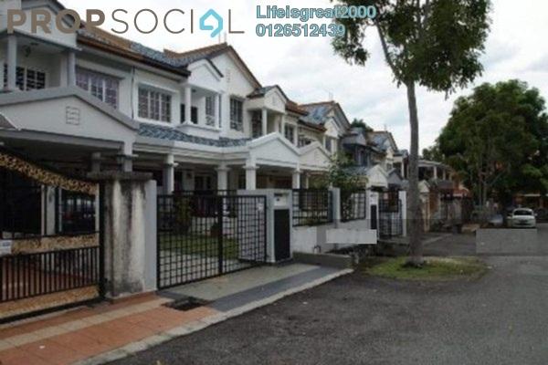 For Sale Terrace at BP2, Bandar Bukit Puchong Freehold Semi Furnished 4R/3B 478k
