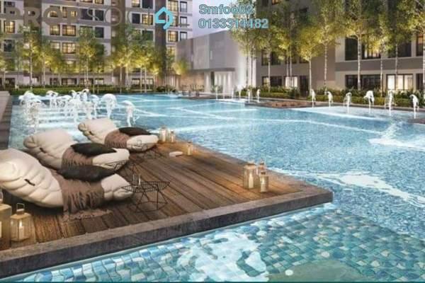 For Sale Condominium at Pantai Dalam, Pantai Freehold Semi Furnished 2R/1B 400k