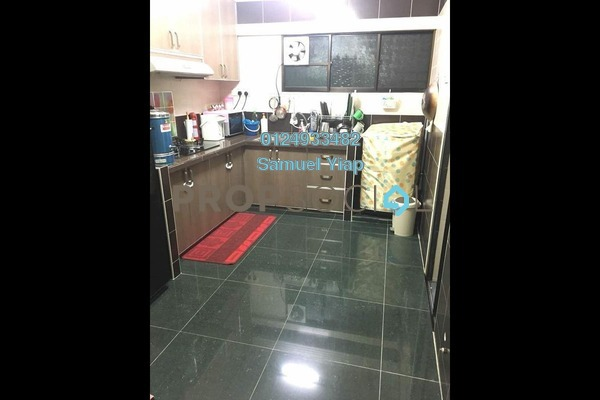 For Sale Apartment at Jelutong Park, Jelutong Freehold Semi Furnished 2R/1B 280k