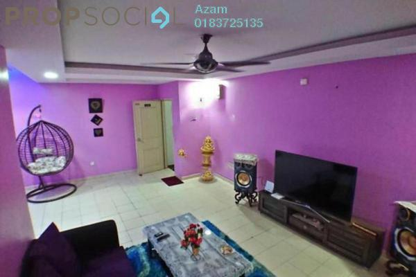 For Sale Townhouse at Gardenville Townvilla, Selayang Heights Freehold Semi Furnished 3R/3B 335k