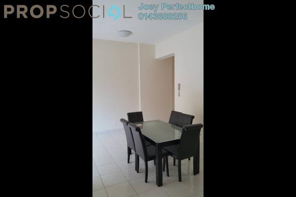 For Rent Condominium at Greenview Residence, Bandar Sungai Long Freehold Semi Furnished 3R/3B 1.3k