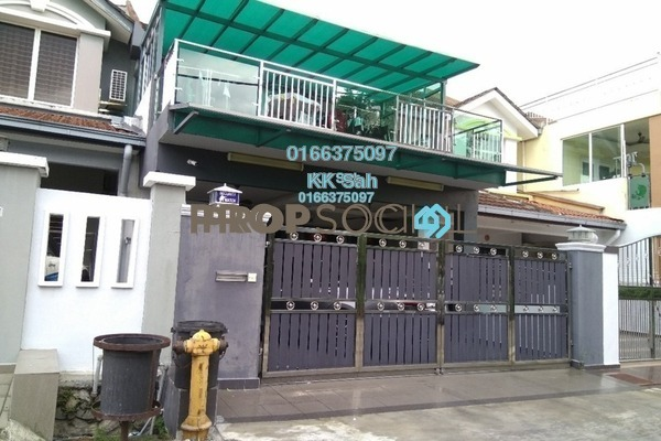 For Sale Terrace at Taman Putra Budiman, Balakong Leasehold Semi Furnished 4R/3B 799k