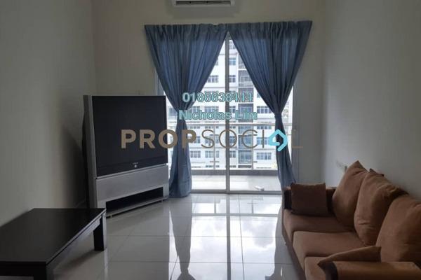 For Rent Condominium at Skypod, Bandar Puchong Jaya Freehold Semi Furnished 3R/2B 2.2k