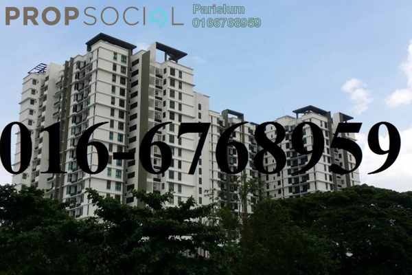 For Rent Serviced Residence at Seri Cempaka, Cheras Freehold Fully Furnished 1R/1B 1.3k